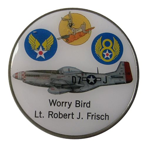 P-51 Worry Bird Coin - View 2