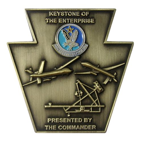 11 RS Keystone Commander Coin  - View 2