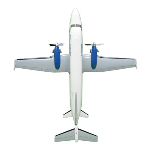 Continental Connection Beechcraft 1900D Custom Airplane Model  - View 5