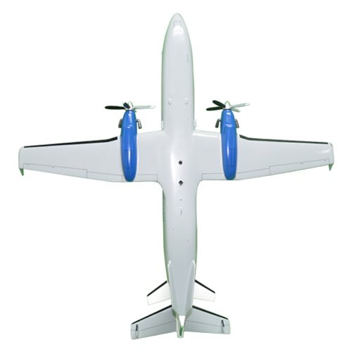 Continental Connection Beechcraft 1900D Custom Airplane Model  - View 6