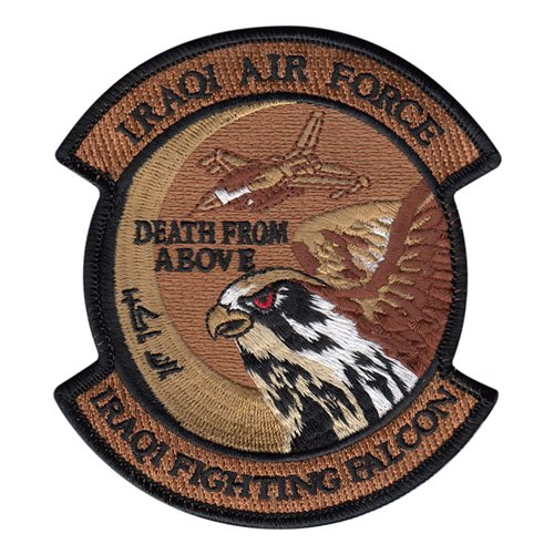 IQAF 9 FS Fighting Falcon Desert Patch