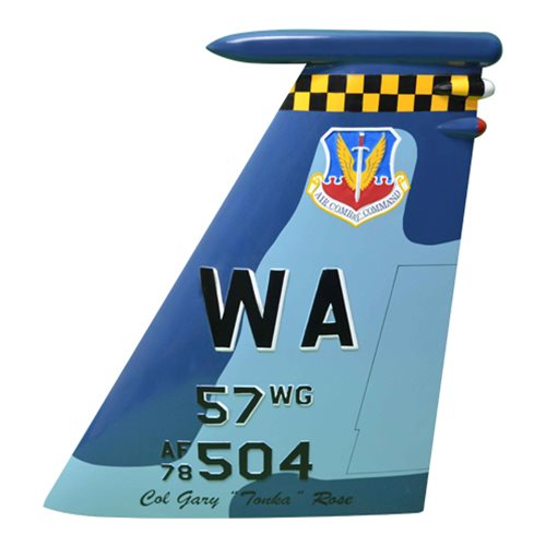 57 WG F-15C Eagle Airplane Tail Flash