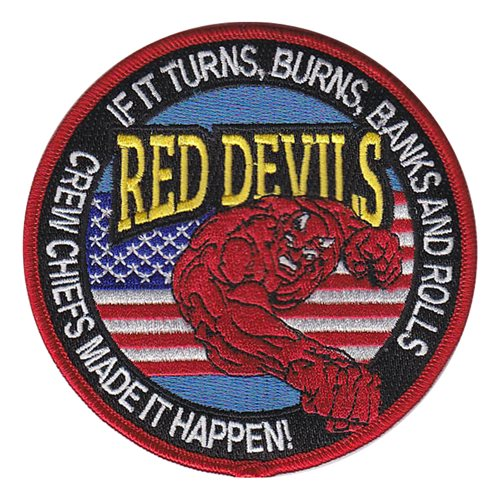 434 FTS Red Devils Friday Patch