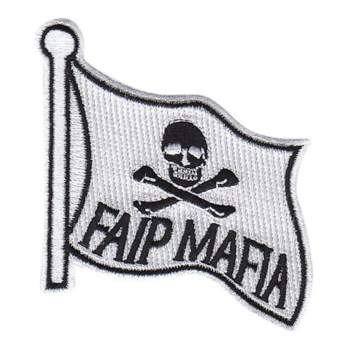 FAIP Mafia White Patch