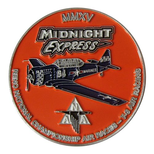 T-6 Reno Air Races Coin  - View 2