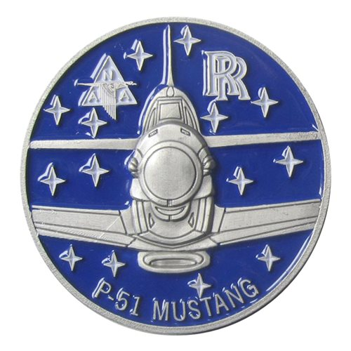 P-51 Big Beautiful Doll Coin