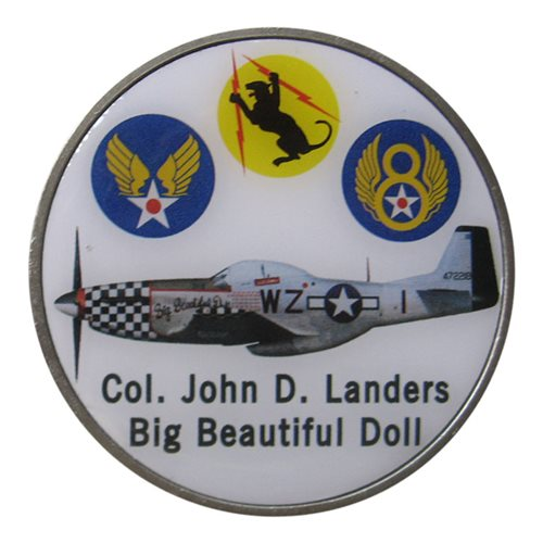 P-51 Big Beautiful Doll Coin - View 2