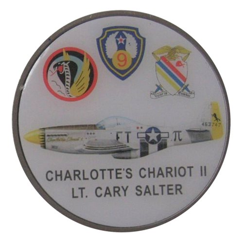P-51 Charlottes Chariot Coin - View 2