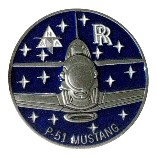 P-51 Old Crow Mustang Challenge Coin