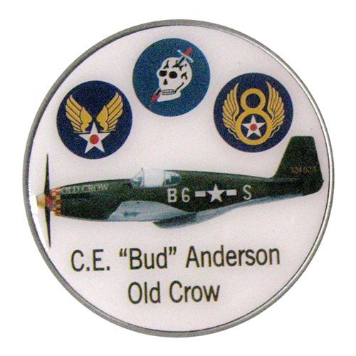 P-51 Old Crow Mustang Challenge Coin - View 2