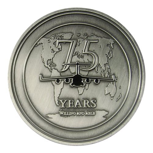 7 AS 75th Anniversary Coin  - View 2