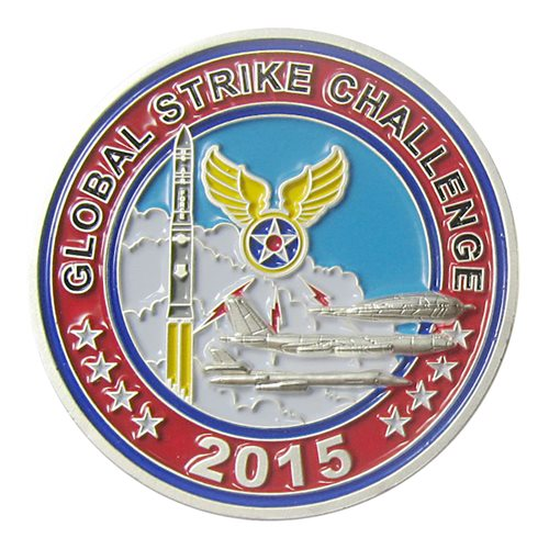 Global Strike Challenge 2015 Coin