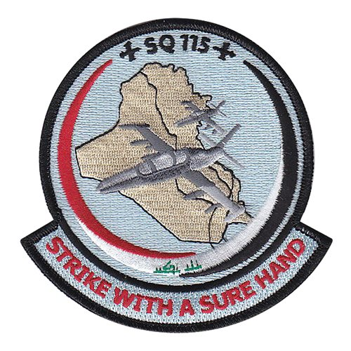 Iraqi Air Force 115 Squadron Patch