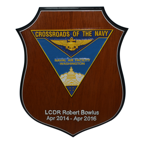 Flat Top Shield Plaque