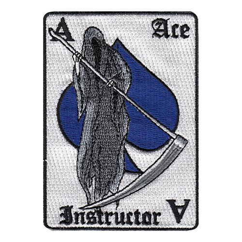 10 MS Ace Instructor Patch