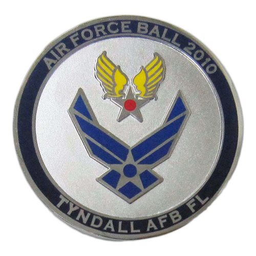 325 FW Custom Air Force Challenge Coin