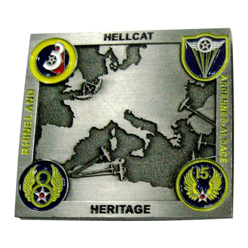 57 IS Heritage Challenge Coin - View 2