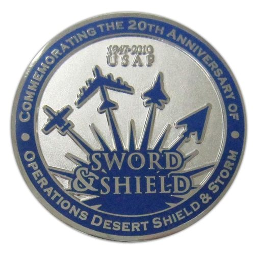 325 FW Custom Air Force Challenge Coin - View 2