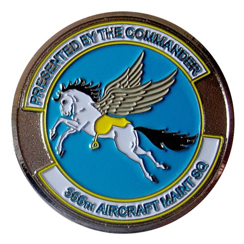 366 AMXS Commander Coin - View 2