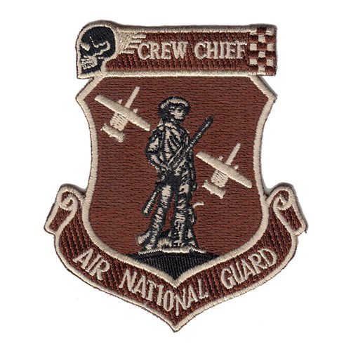 190 AMU Crew Chief Desert Patch
