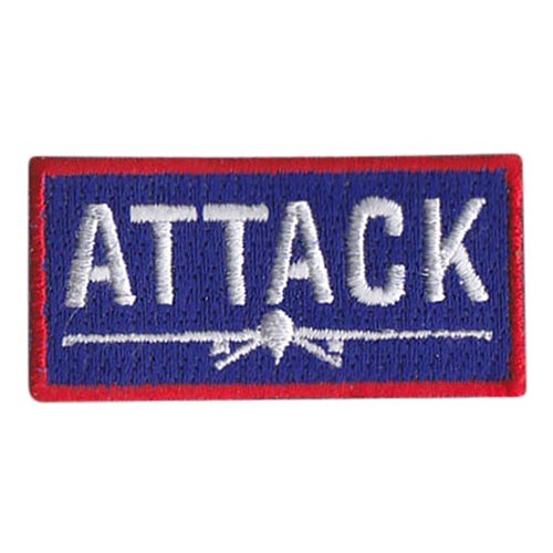 20 ATKS MQ-1 Attack Pencil Patch