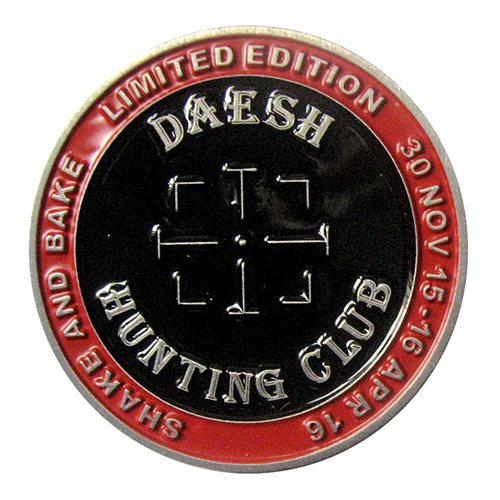 No. 1(F) SQN Challenge Coin - View 2