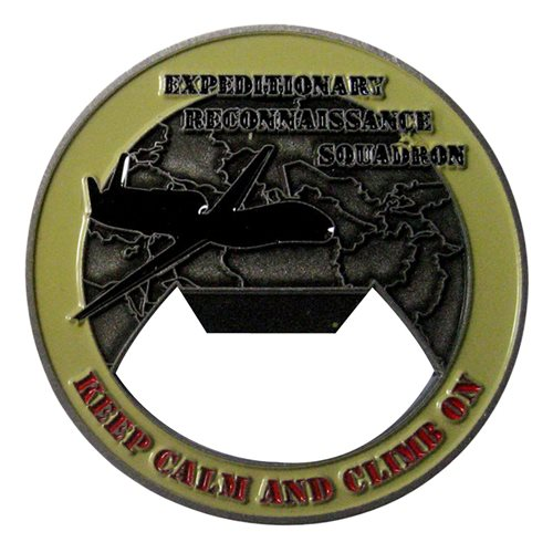 99 ERS Bottle Opener Challenge Coin - View 2