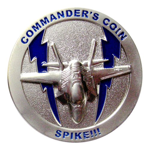 62 FS Commander Challenge Coin  - View 2