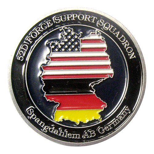 52 FSS Commander Challenge Coin  - View 2