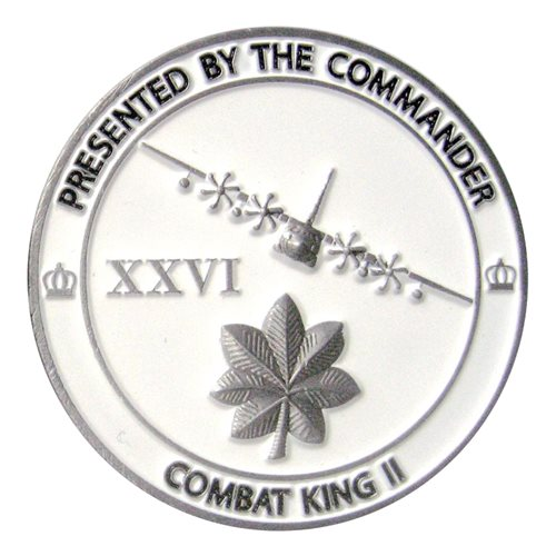26 ERQS Commander Challenge Coin  - View 2