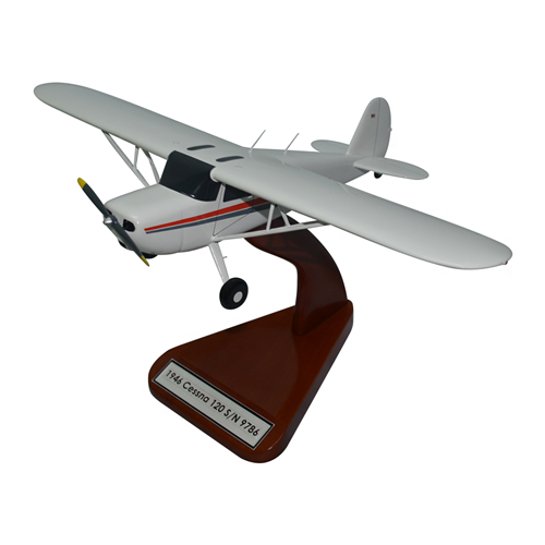 Cessna 120 Custom Airplane Model