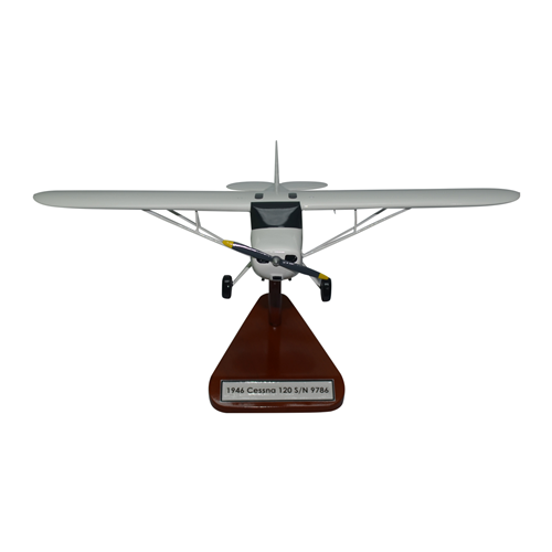Cessna 120 Custom Airplane Model  - View 3