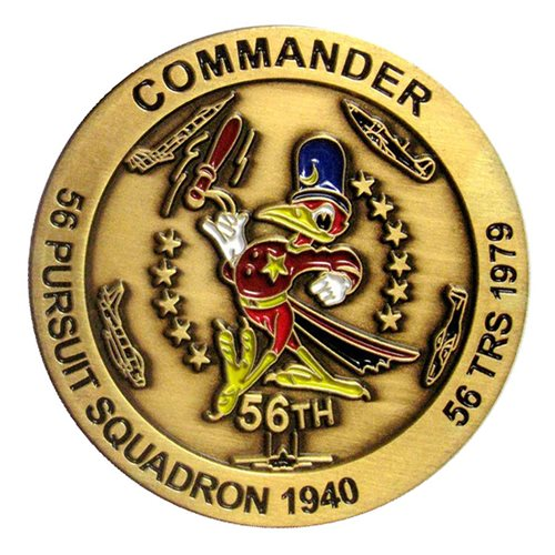 56 TRS Commander Coin