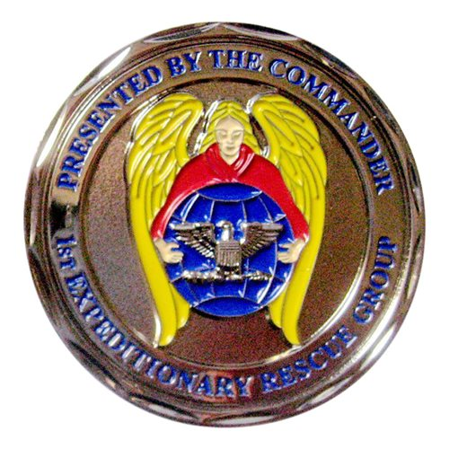 1 ERQG Commander Coin - View 2
