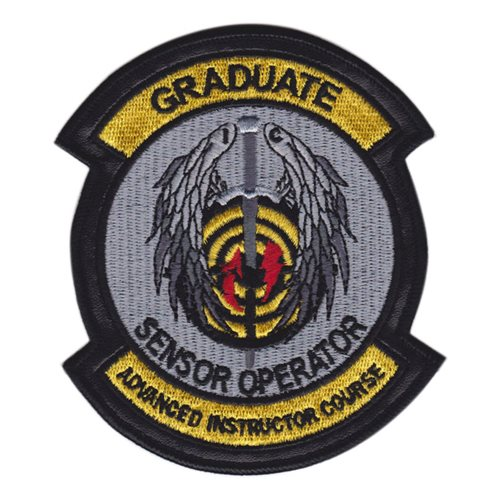 26 WPS Sensor Operator IC Patch with Leather