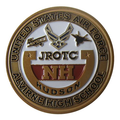 Alvirne High School JROTC Challenge Coin