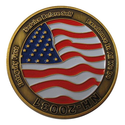 Alvirne High School JROTC Challenge Coin - View 2
