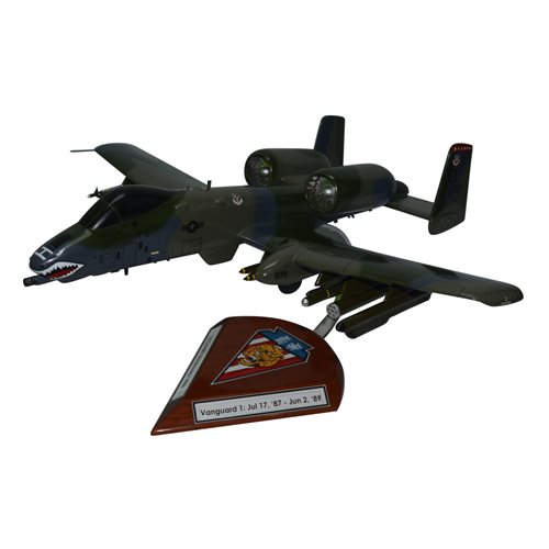 76 TFS A-10 Custom Airplane Model