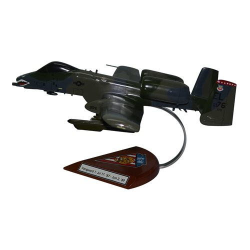 76 TFS A-10 Custom Airplane Model  - View 2