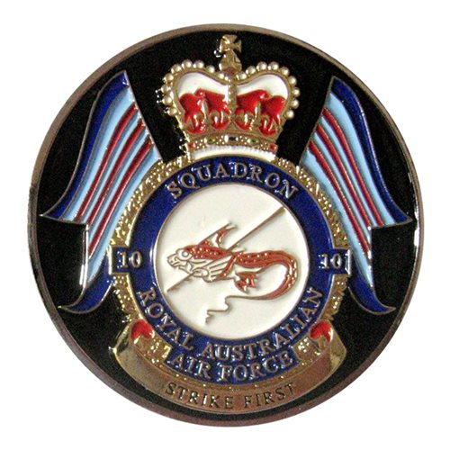 10 SQN RAAF Strike First Challenge Coin