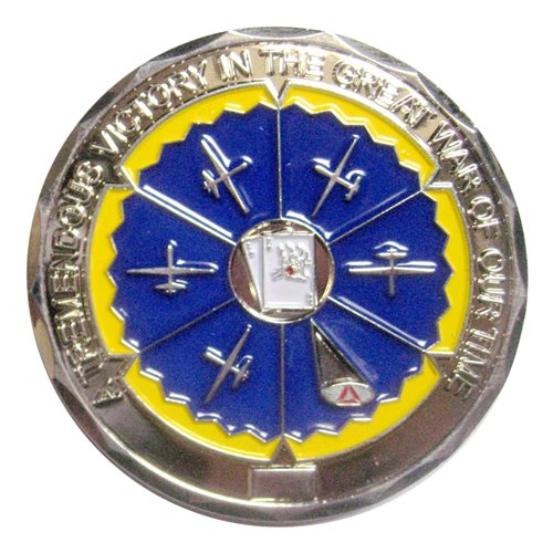 22 ATKS Commander Challenge Coin - View 2