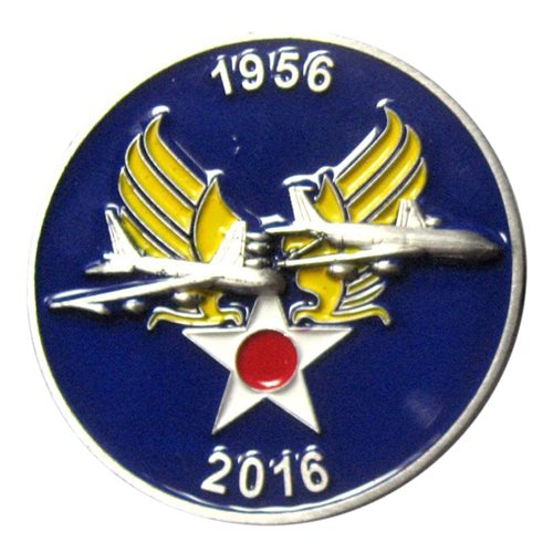 418 FLTS KC-135 Coin - View 2
