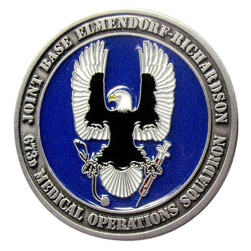 673 MDOS Challenge Coin - View 2