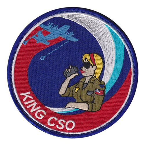 HC-130 Combat King CSO Woman Patch
