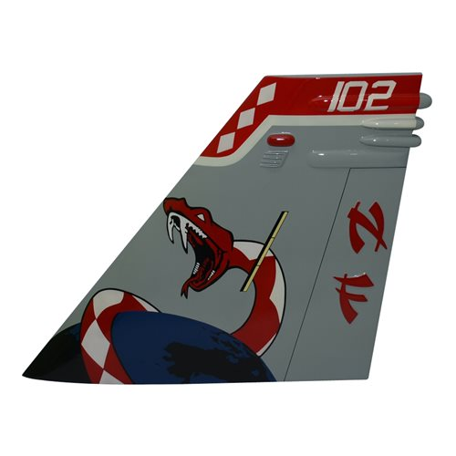 VFA-102 F/A-18F Custom Airplane Tail Flash