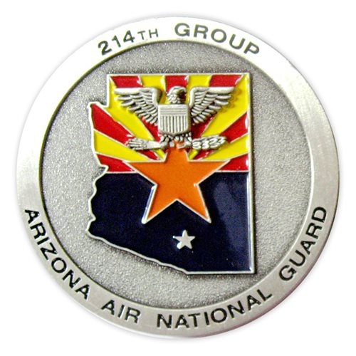 214 RG Commander Coin  - View 2