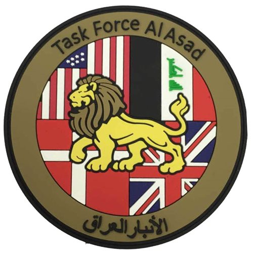 Task Force Al Asad PVC Patch