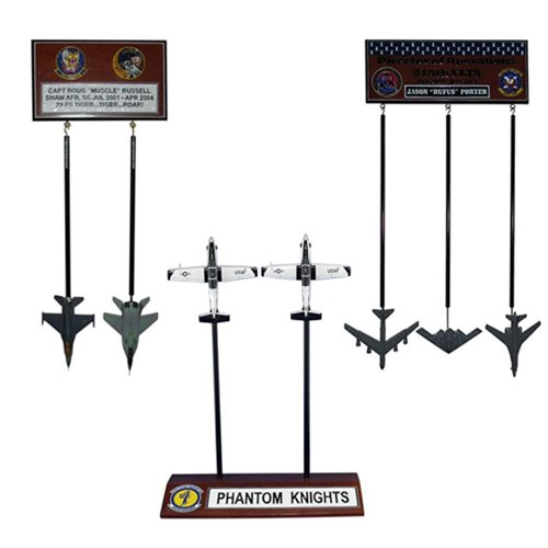 Design Your Own Combo Package Aircraft Briefing Stick Models