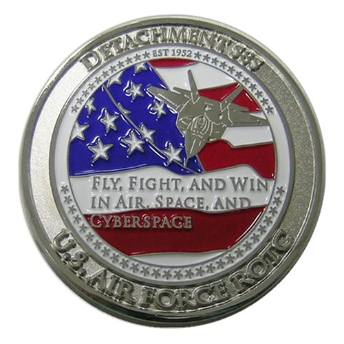 Duke ROTC Custom Air Force Challenge Coin