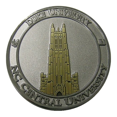 Duke ROTC Custom Air Force Challenge Coin - View 2